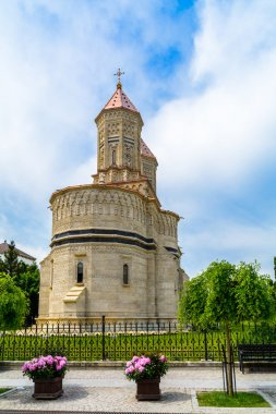 3 Hierarchs Church - Iasi Romania Europe. Built in 1637-1639, financed by Moldavian king Vasile Lupu the monastery is situated in the heart of Iasi on