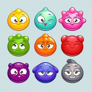 Jelly characters