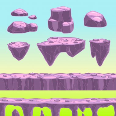 Cartoon stones