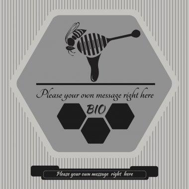 Logo for honey 8