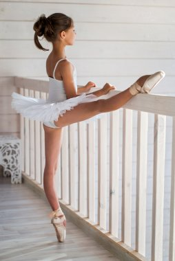Children in ballet. Duet.