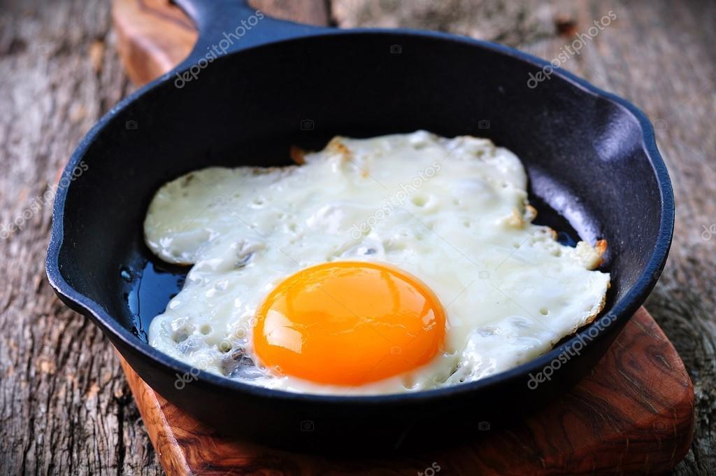 järn i ägg