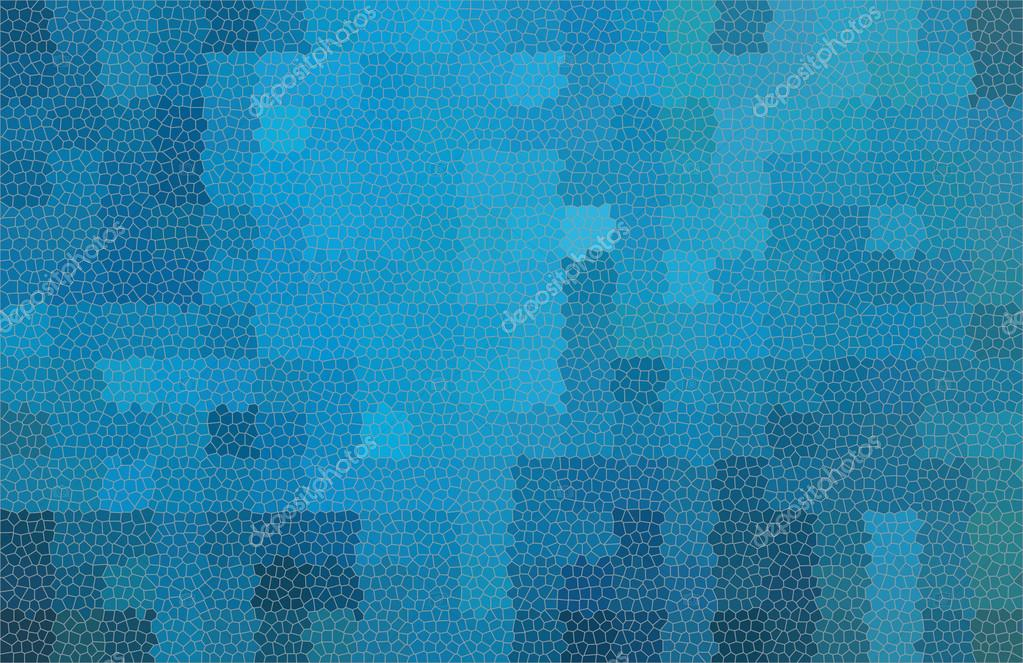 Blau abstrakt Quadrat Mosaik Muster. Modern abstrakt abstract Grunge ...