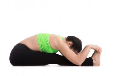 Seated Forward Bend yoga pose