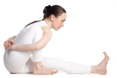 Hip-opening yoga Pose
