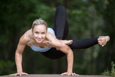 Dragonfly yoga posture