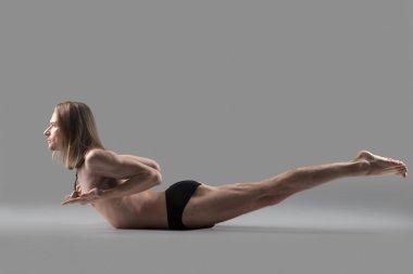 Yoga Salabhasana Pose