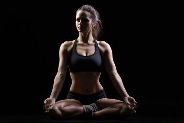 Sukhasana Posture  yoga