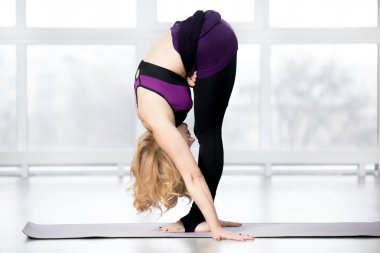 Forward bend exercise