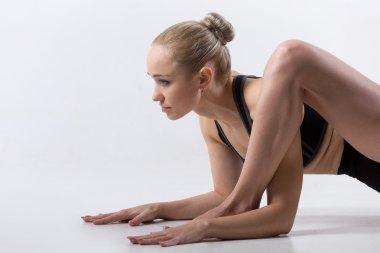 Lizard yoga Pose