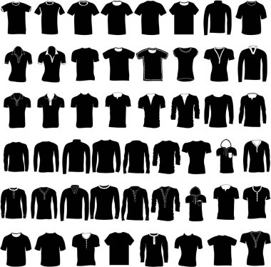 T-shirt, jerseys and sweater set