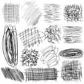 ručně kreslených čar
