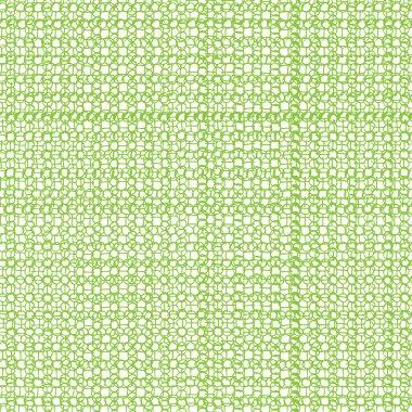 Green seamless ornament pattern
