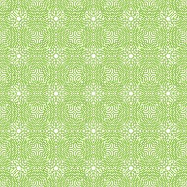 Green pattern for money design