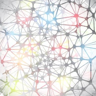 Polygonal molecular structure