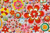 abstraktní květinové pozadí