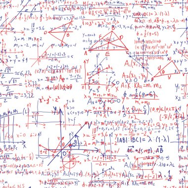 Mathematical seamless texture