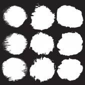 Poškrábaný skvrny bílé barvy