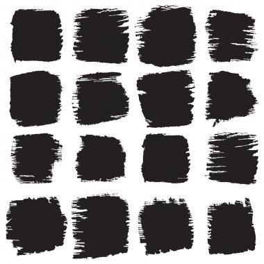 Grunge, sckratched rectangles