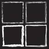 Fényképek Grunge fekete-fehér keret