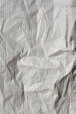White and gray paper sheet
