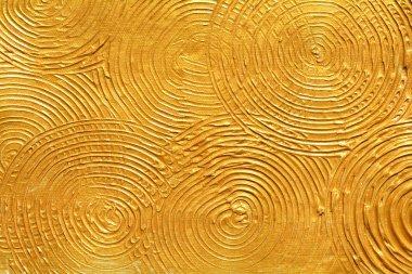 Gold textured surface, golden background,