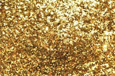 Holiday yellow glitter,