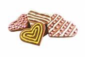 sušenky ve tvaru srdce