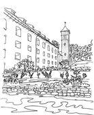 Pevnost Konigstein kostel