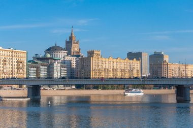 Moscow River embankment.