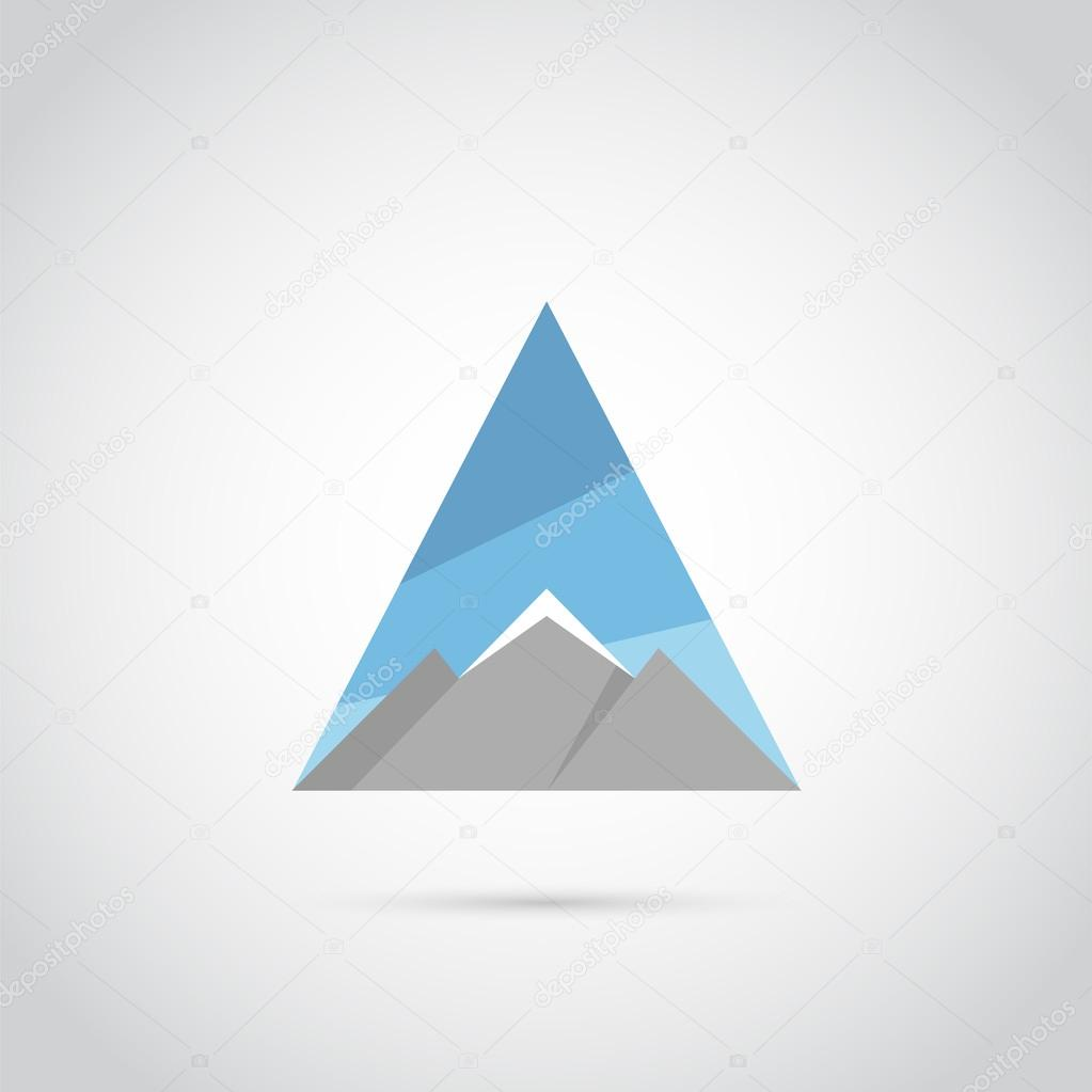 Mountain flat logo