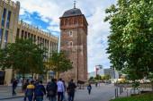 06.10.2011. Chemnitz. Ostdeutschland. Roter Turm in Chemnitz.