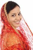mladá tradiční indická žena