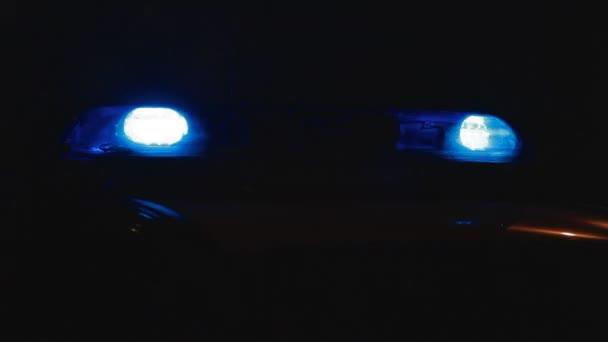 policejní auto nouzová světla