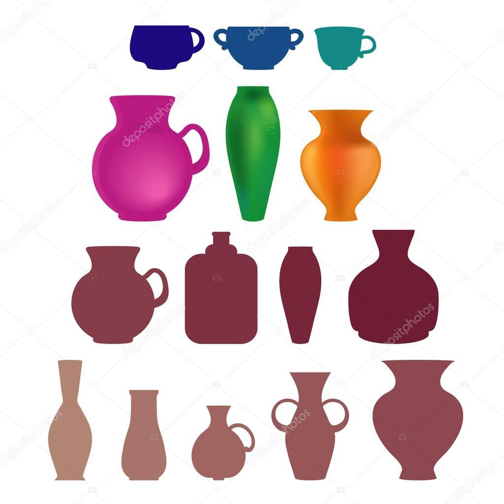 Vase shapes stock vector odango datte 60473989 vase shapes different styles vector by odango datte reviewsmspy