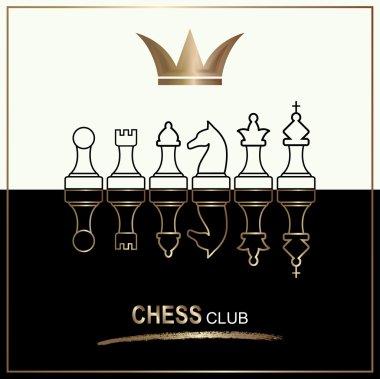 Chess club logo.
