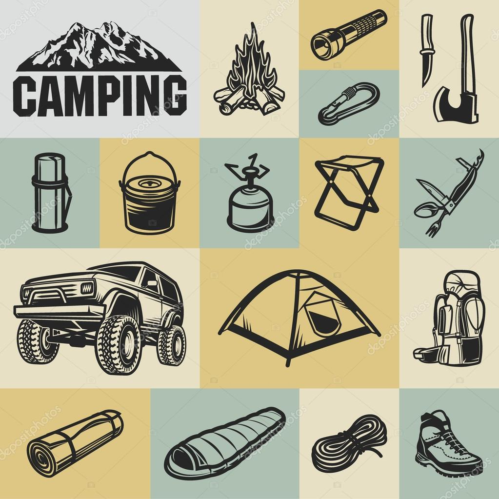 Hiking Mountain And Camping Equipment