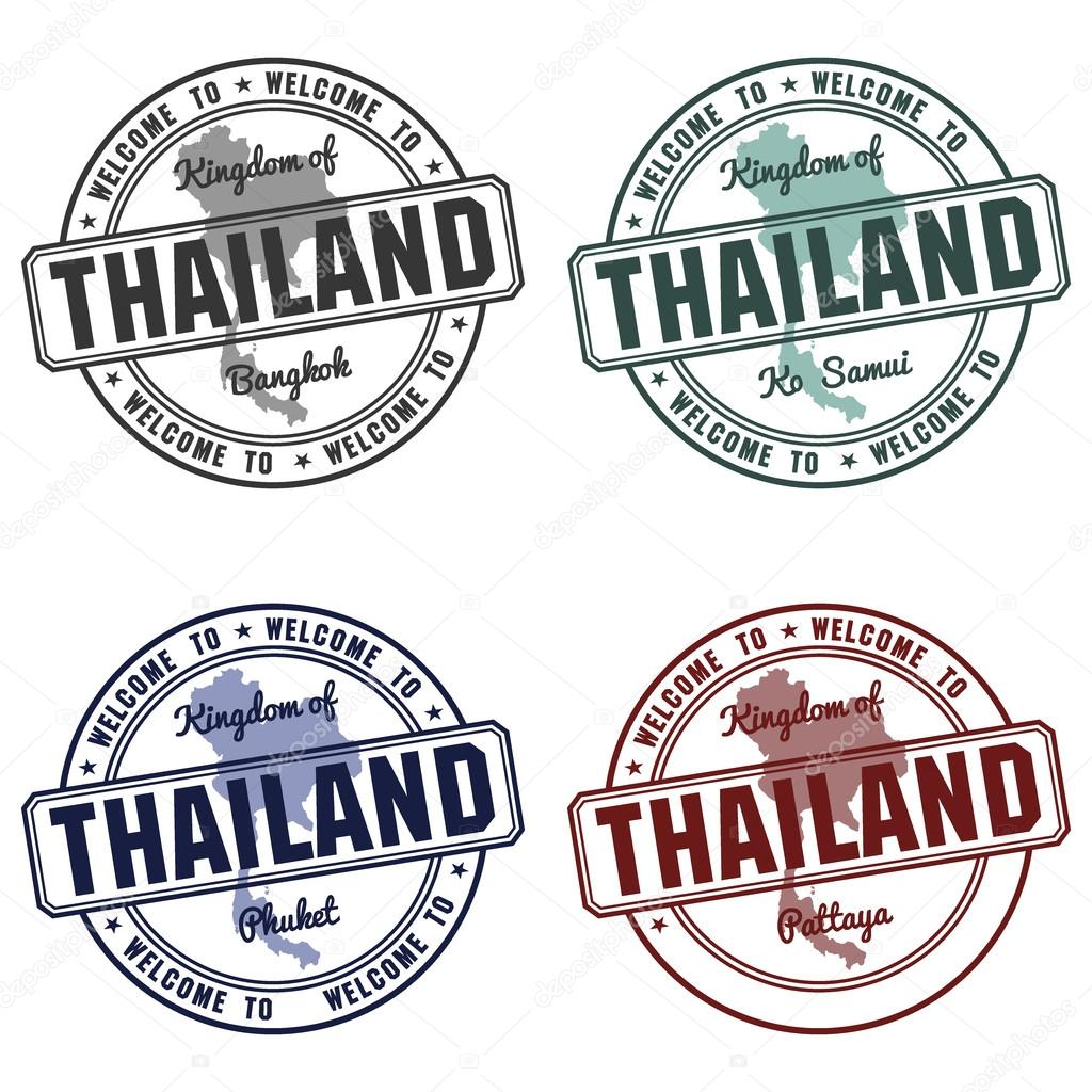 st with thailand map made in phuket samui bangkok stock vector Best Vacation Destinations st with thailand map made in phuket samui bangkok stock vector