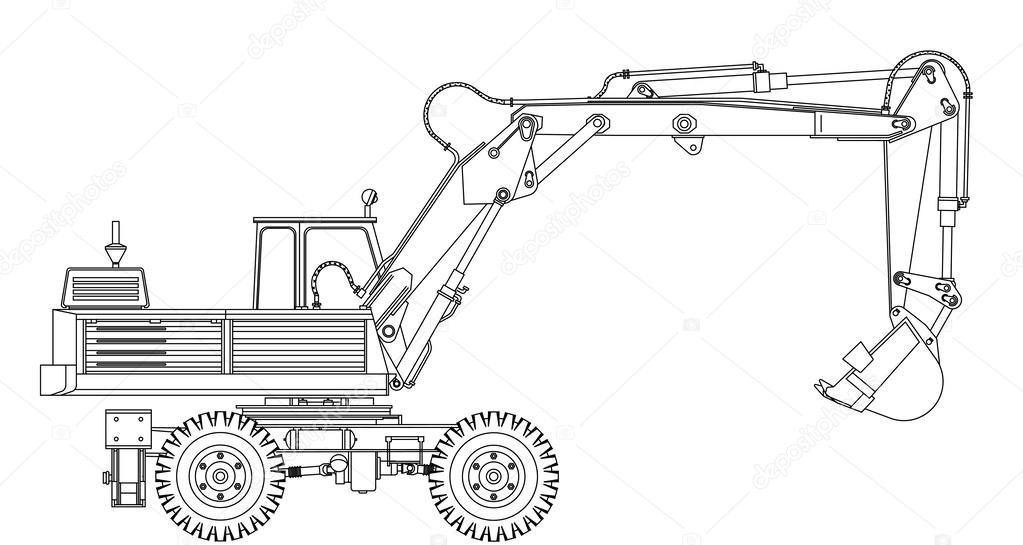 graafmachine stockvector 169 galimovma79 62837765