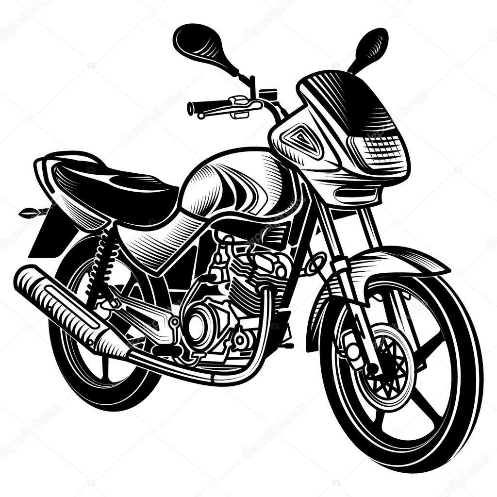 motorcycle vector illustration stock vector galimovma79 97450888 rh depositphotos com motorcycle vector free download motorcycle vector free