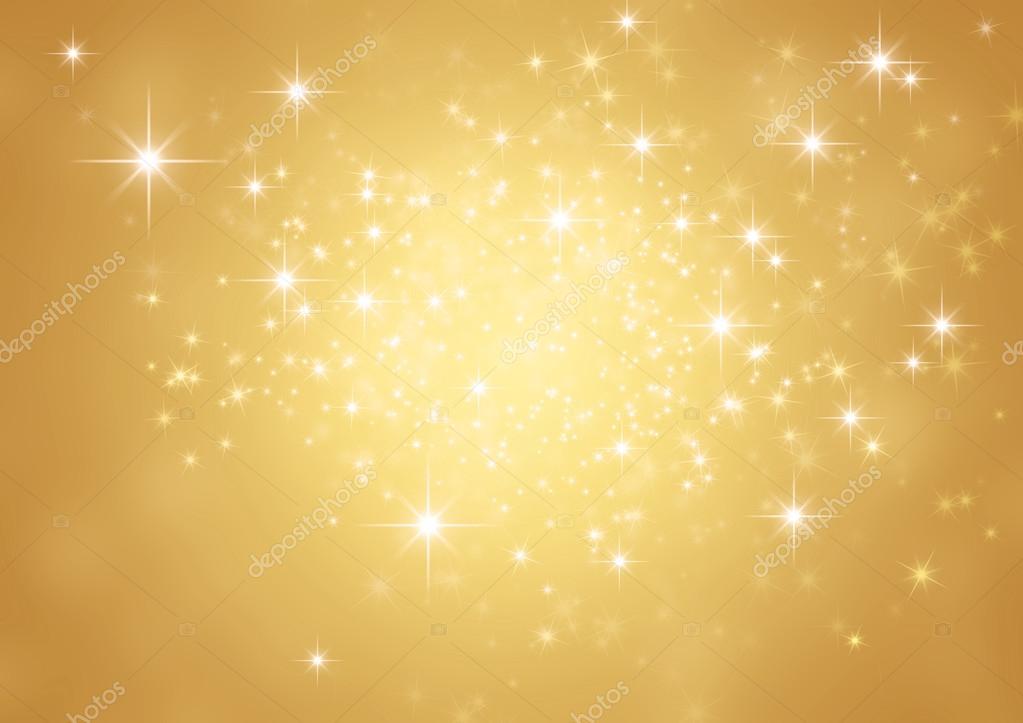 Festive sparkling lights