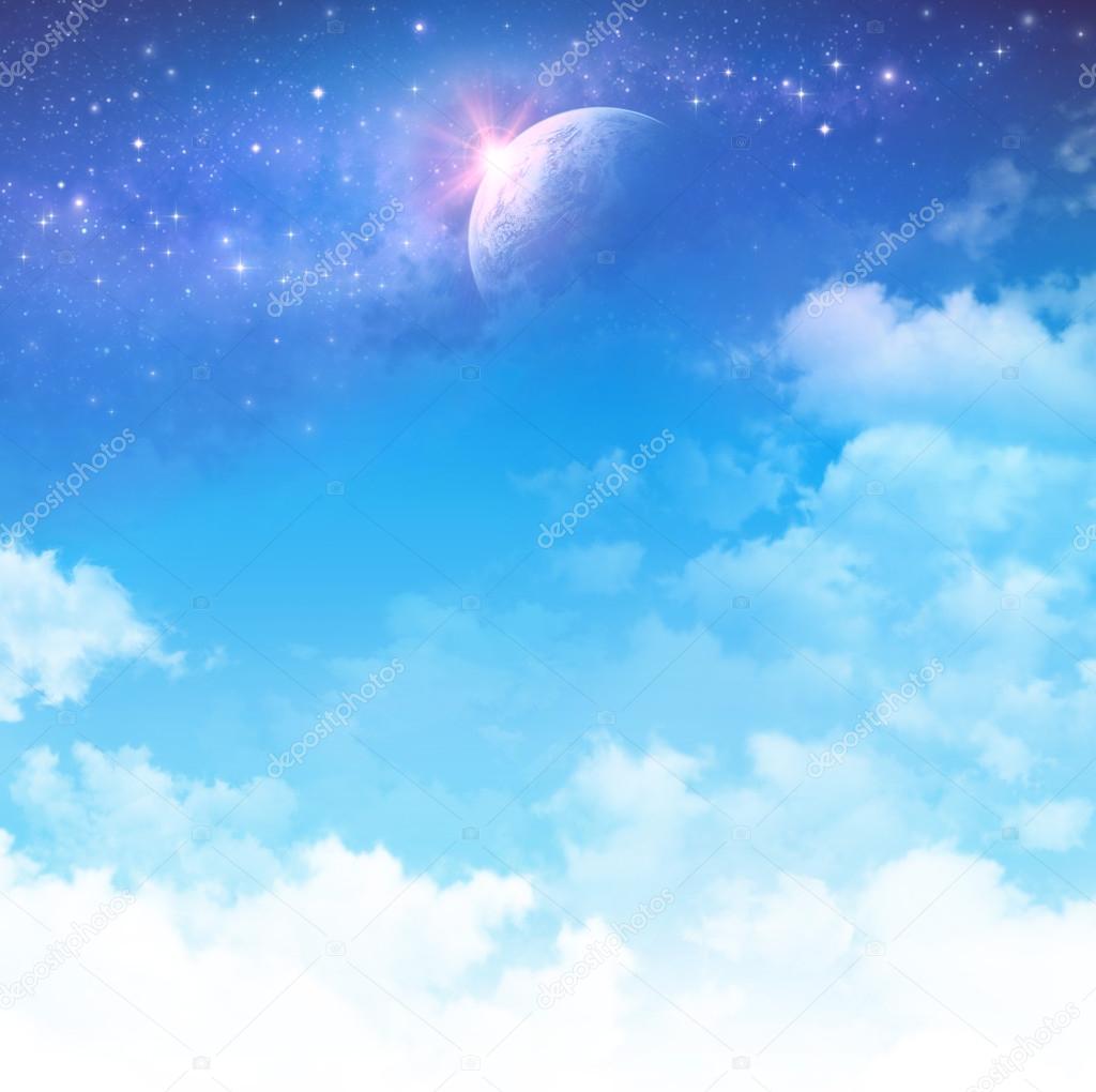 Cloudscape fantasy