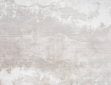 Concrete white wall texture background, stained and marbled stock vector