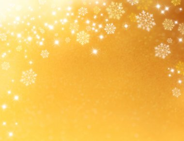 Festive snowflakes background