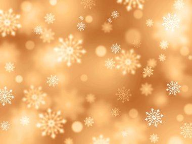 Festive snowflakes background