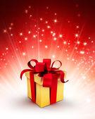 Fotografia scatola regalo festa