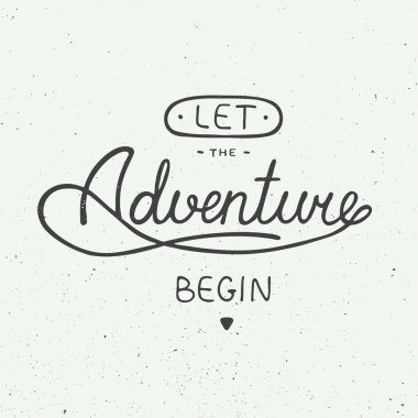 Let the adventure begin in vintage style
