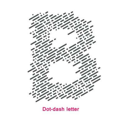 dot-dash letter