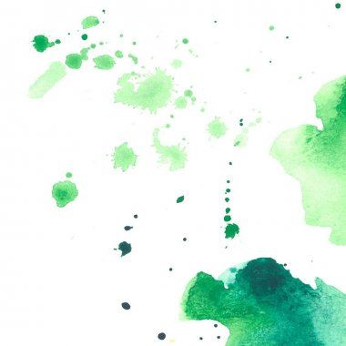 Watercolor drops