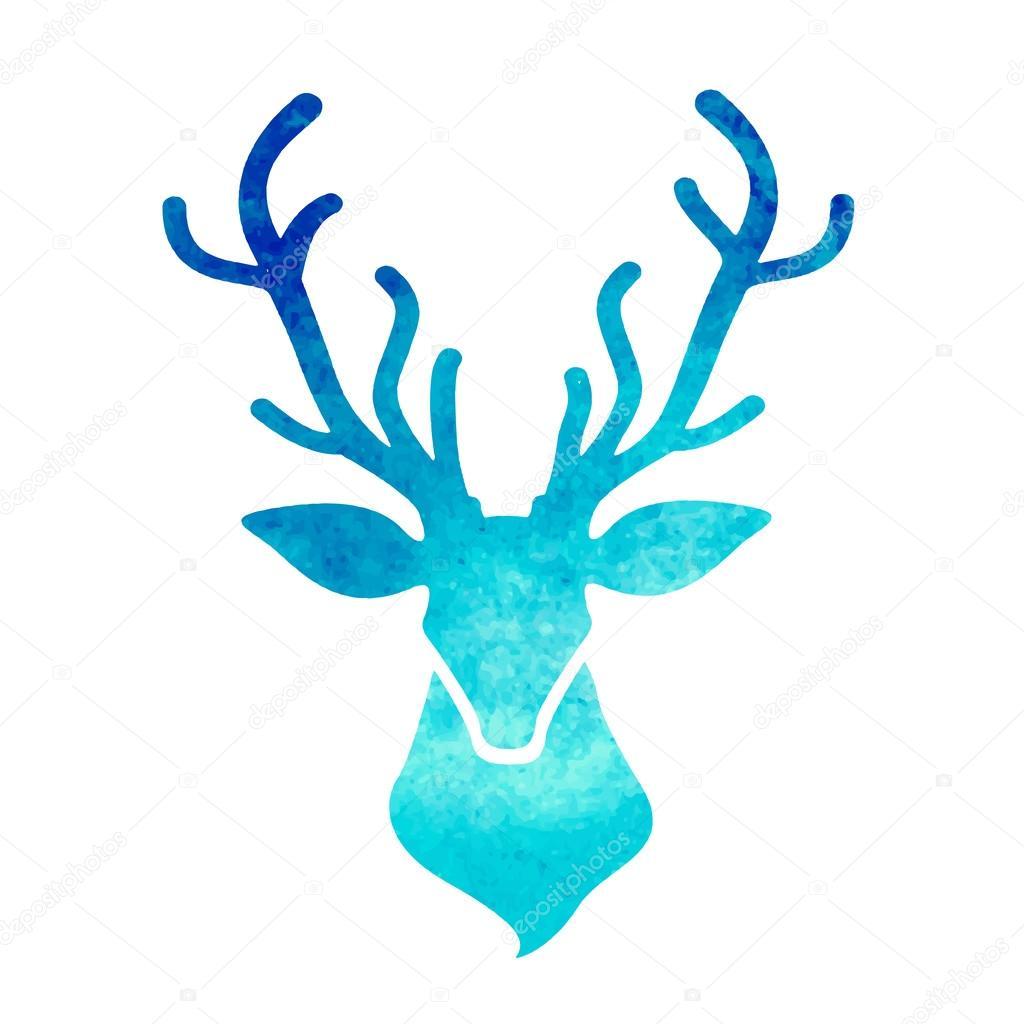 deer head stock vector  u00a9 ty4ina 60645015 Snowflake Clip Art SVG snowflake background vector art free
